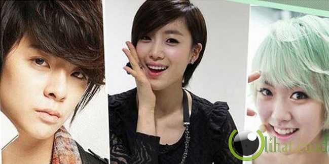 10 member Girl Band Kpop yang Bergaya Rambut Tomboy