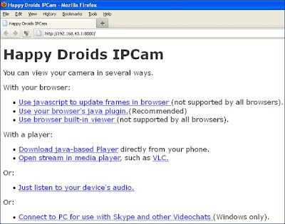 Cara Mudah Membuat Ponsel Android Menjadi Camera CCTV