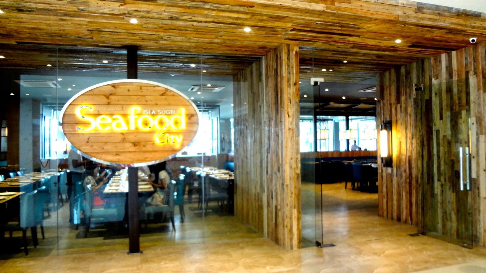 Babe For Food Isla Sugbu Seafood City Cebu 39 S Newest Seafood Destination