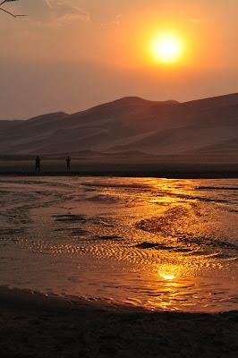 Medano Creek, Great Sand Dunes National Park