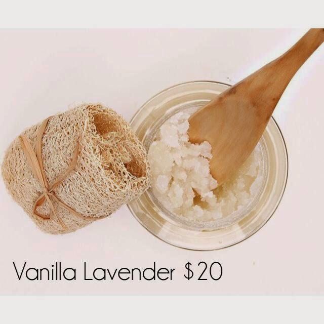 Vanilla Lavender Sugar Scrub