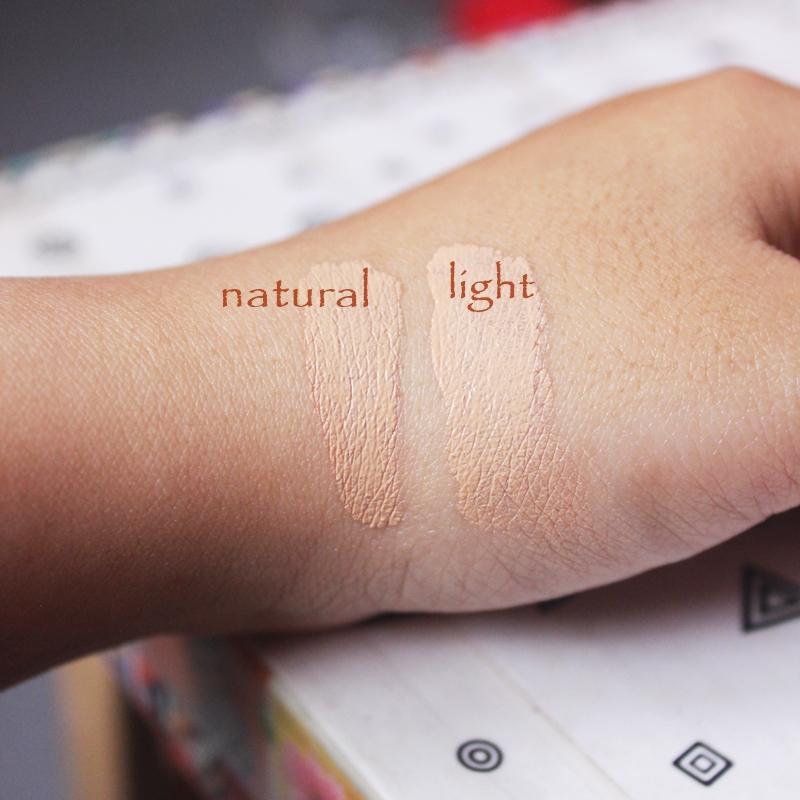 Wardah Everyday BB Cream Natural Vs Light