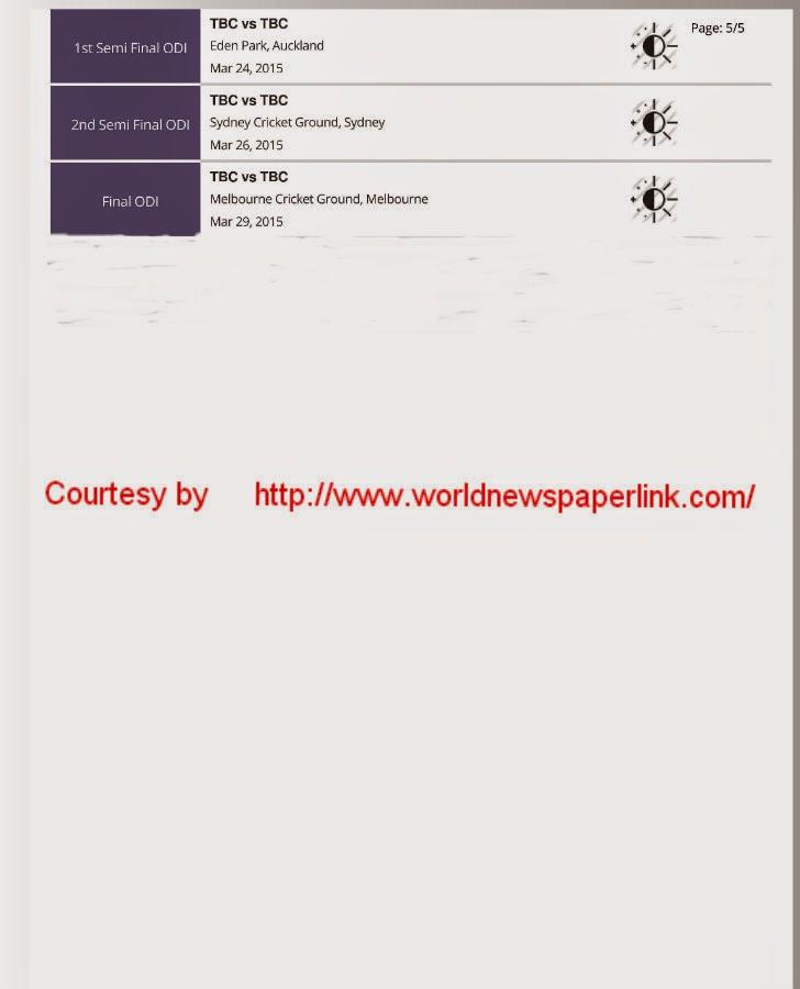icc world cup fixtures 2015 pdf