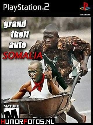 funny pictures:  grand theft auto africa