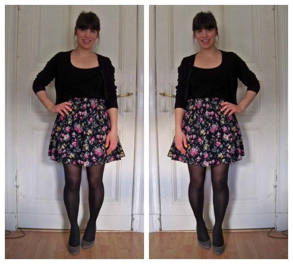30 Kleidungsstücke für 30 Tage ergeben 30 verschiedene Outfits Tag 14