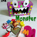 M is for Monster: Craft & Activity