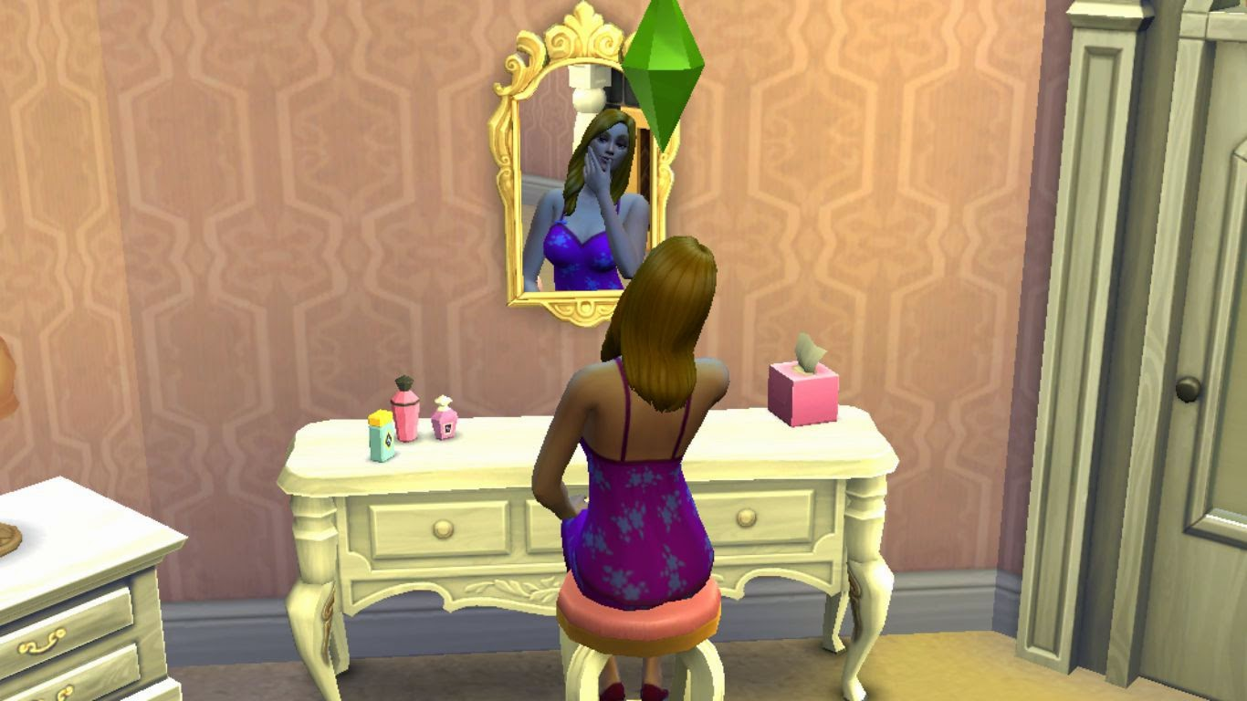 sims 4 vanity table,sims 4 dressing table