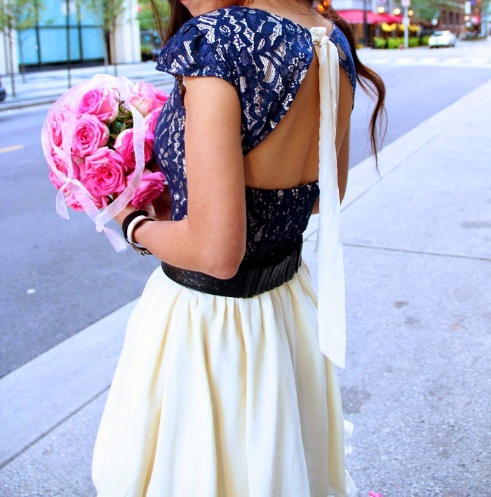 ChiChiLondon lace prom dress,weddingguest,datenight,feminine,girly,dress,chanel necklace,jimmychoocrystalshoes,heels,chicago,streetstyle,shallwesasa,flower