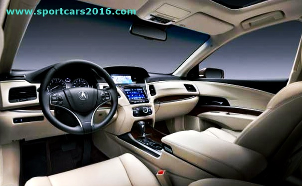 2016 Acura TSX Interior