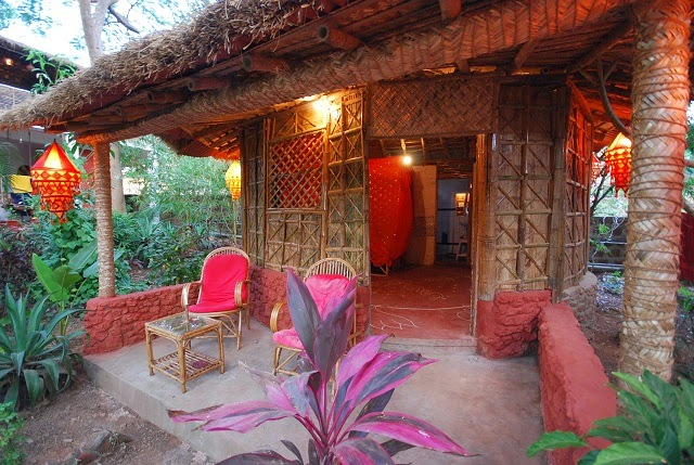Village Susegat - Nestled in the palm groves of the picturesque North Goa beach of Morjim in Goa