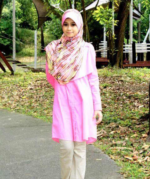 Berikut ini berbagai macam cara-cara berjilbab Tutorial Hijab