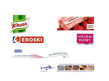 Empresas que  han colaborado conmigo cediendo sus productos.