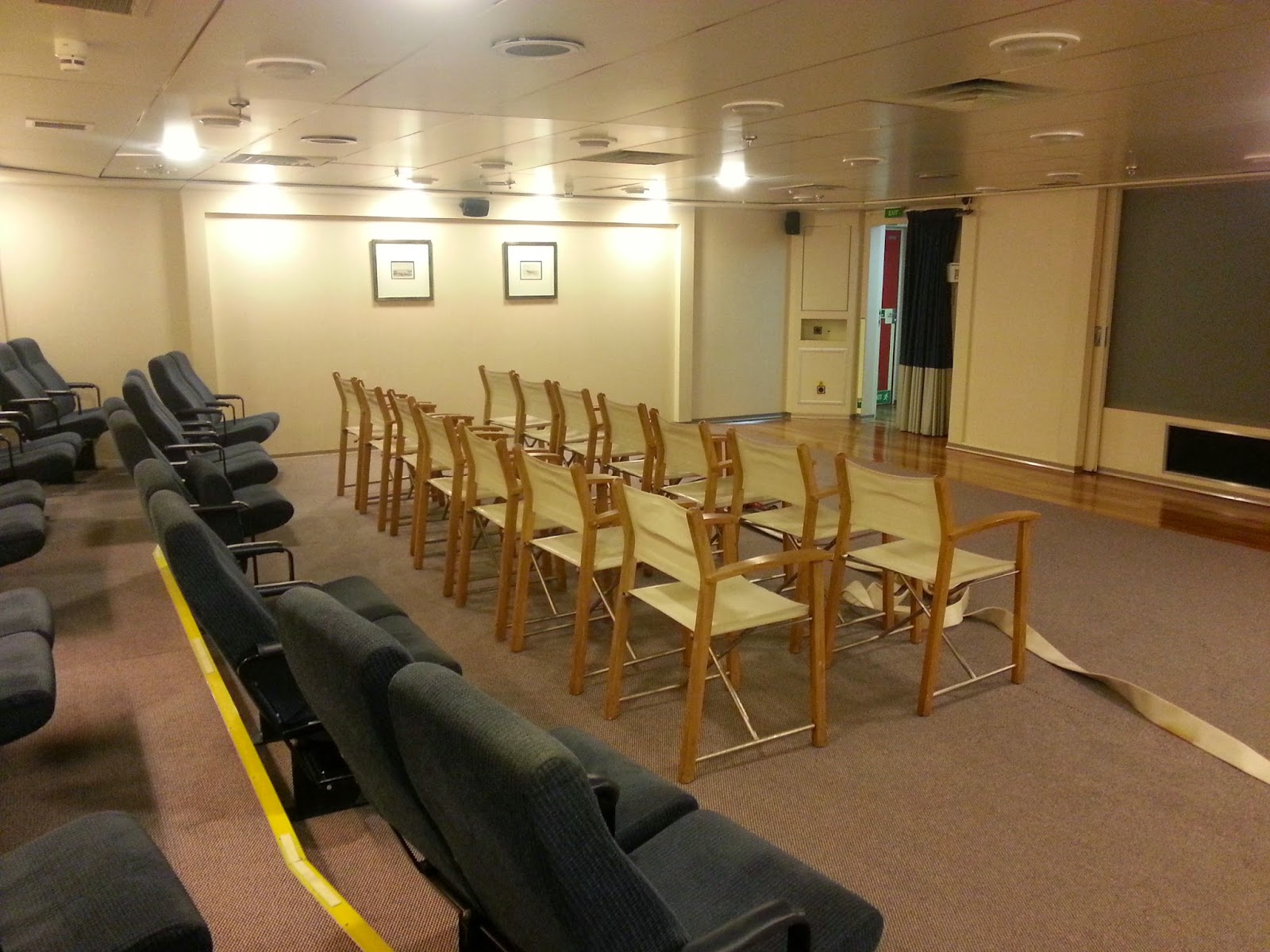 Cruise Ship Saga Pearl II - Cinema & Lecture space