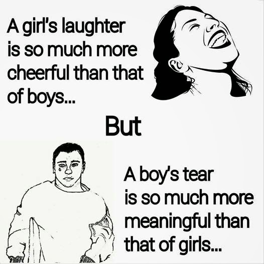 girls-laughter-but-boys-tear