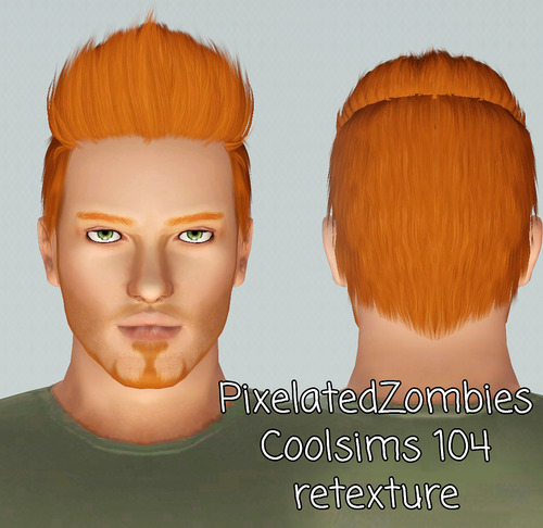 Cool hairstyles for sims 3 : My sims coolsims retexture by pixelated zombies