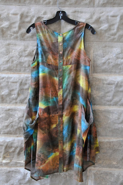 Silk Tunic dress, Printed $148