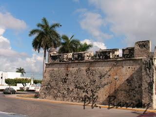paysages du Mexique Campeche Yucatan fort blog voyage photos