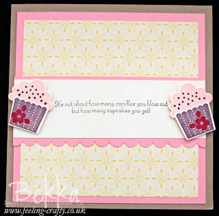 Create a Cupcake Surprise Card