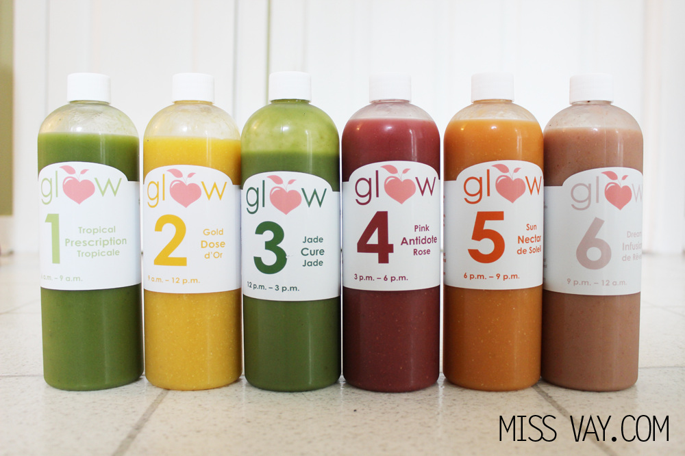 La collection estivale de smoothies Glow #gloweuseofficielle