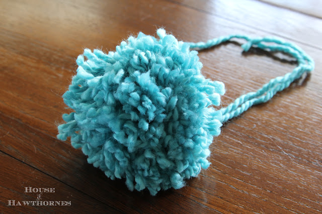 Fun and easy Pom pom tutorial for ice skates and more