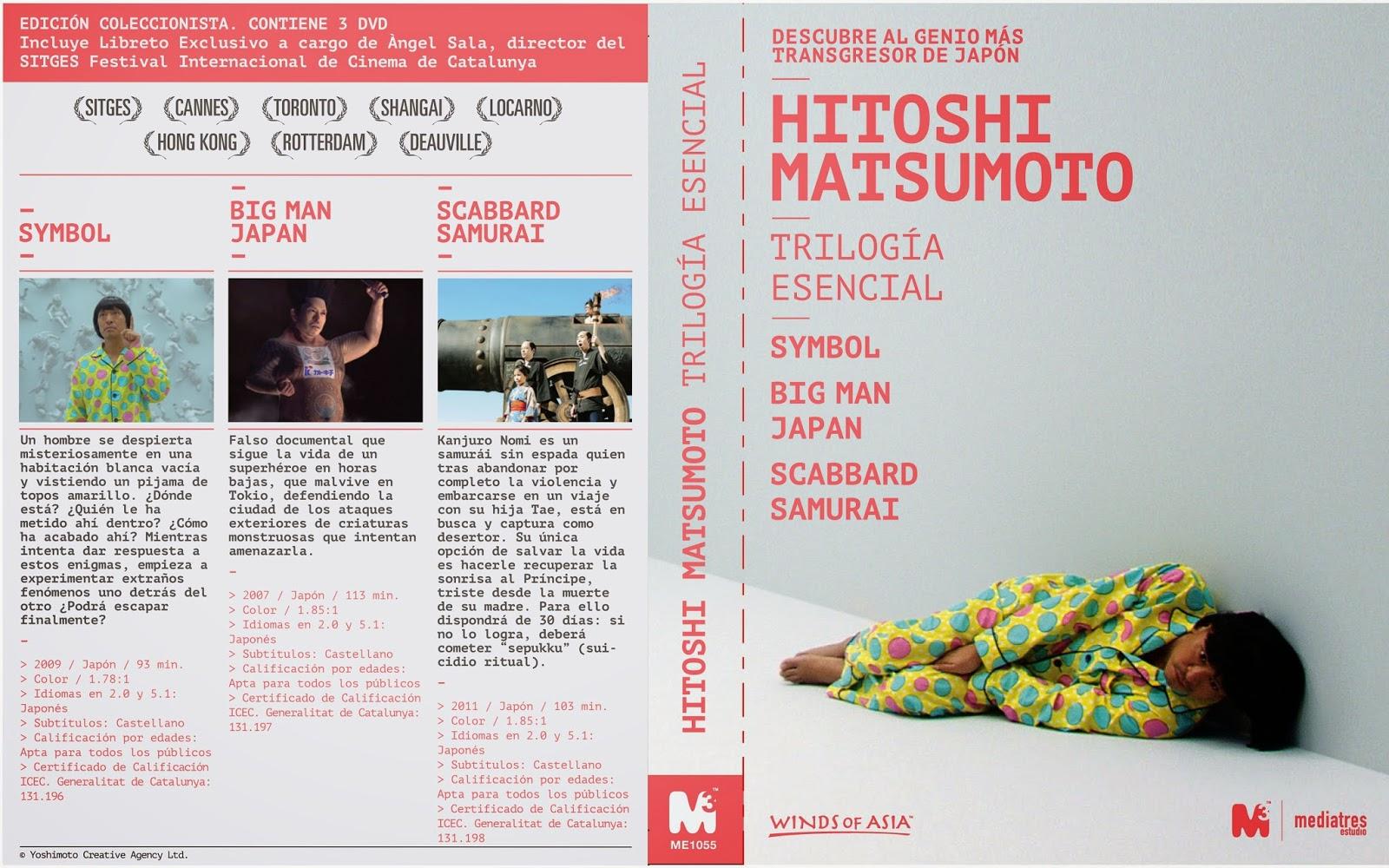 """Hitoshi Matsumoto - Trilogía Esencial"""""""