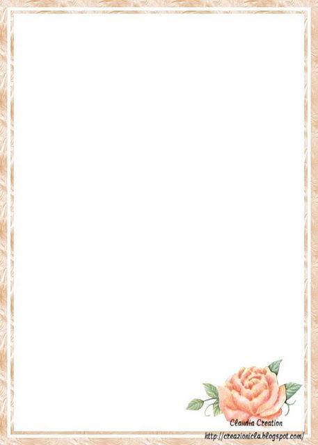 Famoso il mio angolo creativo: Carta da lettere stampabile CW04