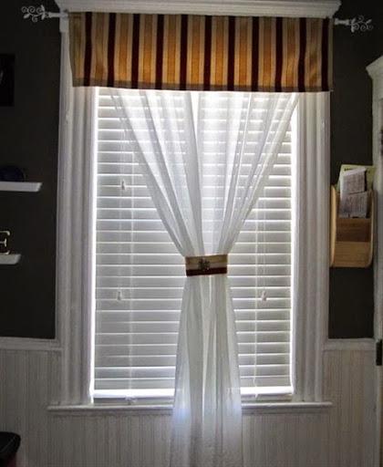 Tirai Jendela Rumah Minimalis model kecil mungil
