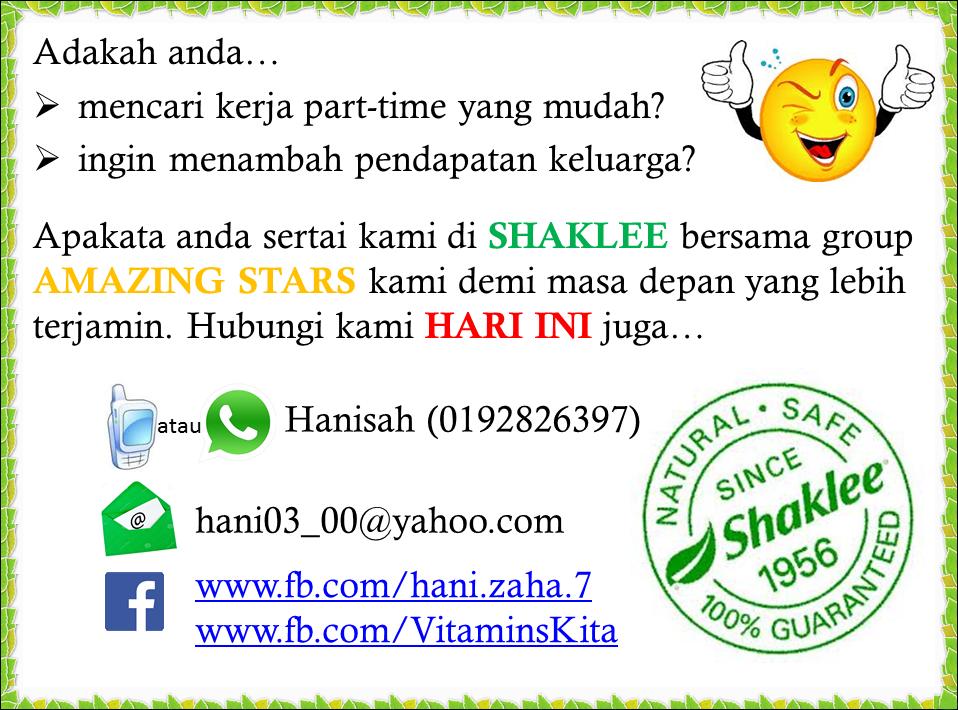 cara menjadi ahli Shaklee