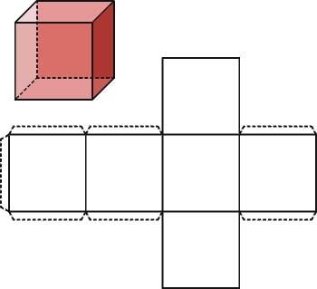 Cuerpos s lidos geom tricos cubo for Cubo de luz para jardin