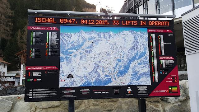 Инструктор по горным лыжам Ишгль Cерфаус