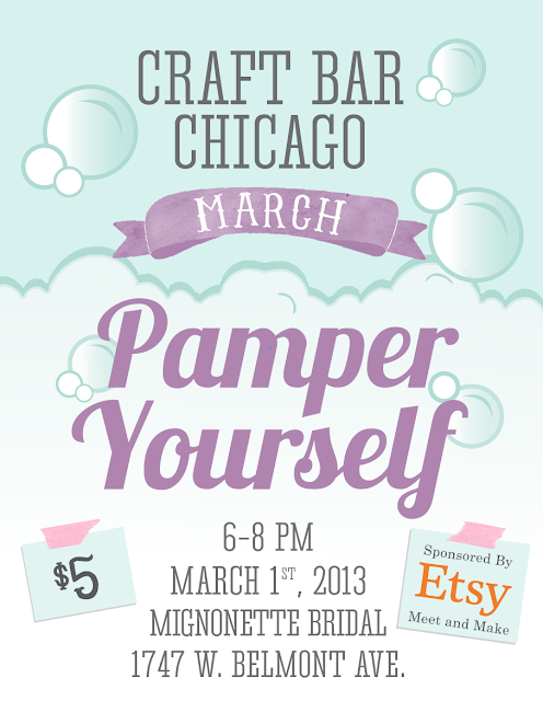 Etsy Meet and Make Craft Bar Chicago