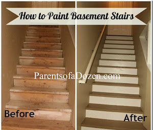 How to Paint Basement Stairs
