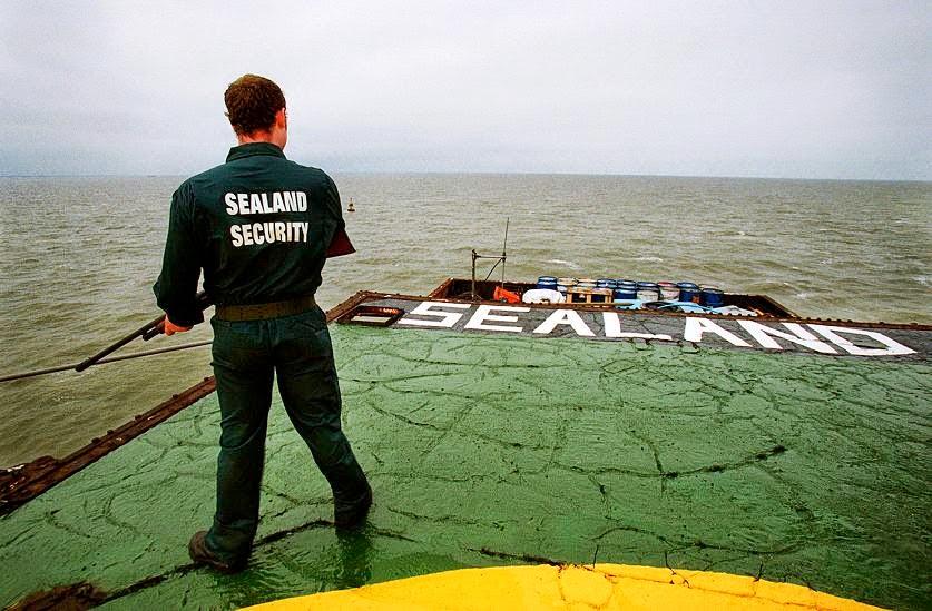 quốc gia nhỏ nhất thế giới - sealand