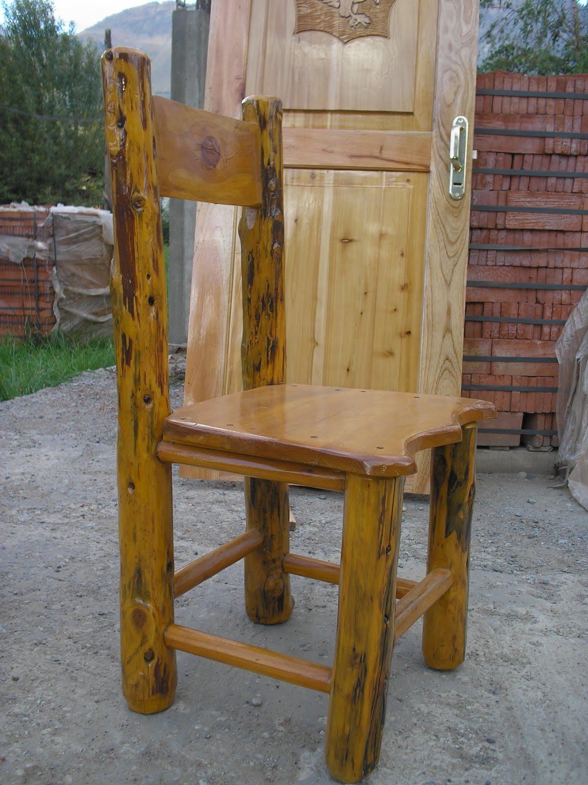 Muebles Artesanales: Sillas de Cipres