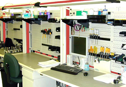 Pegboard Tool Storage Garage Organization Blog Wall