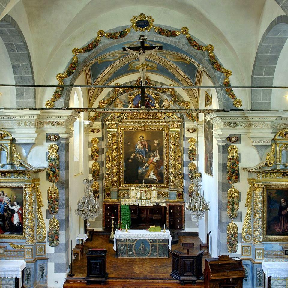 Sant'Antonio abate , Melezet