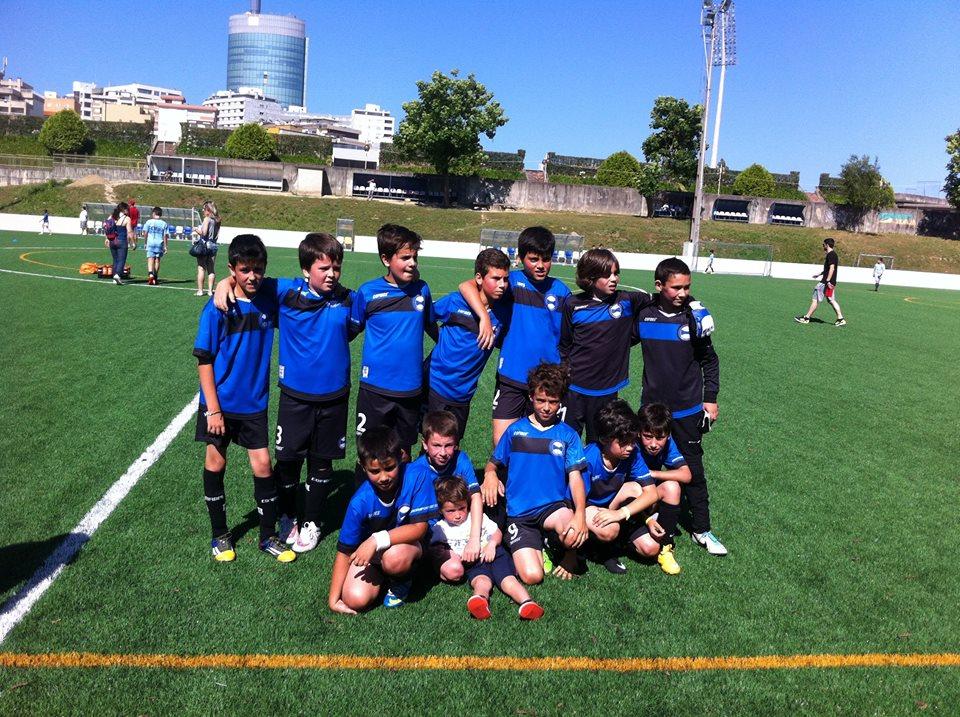 Campeões sub 11 Ligafoot 2014/15
