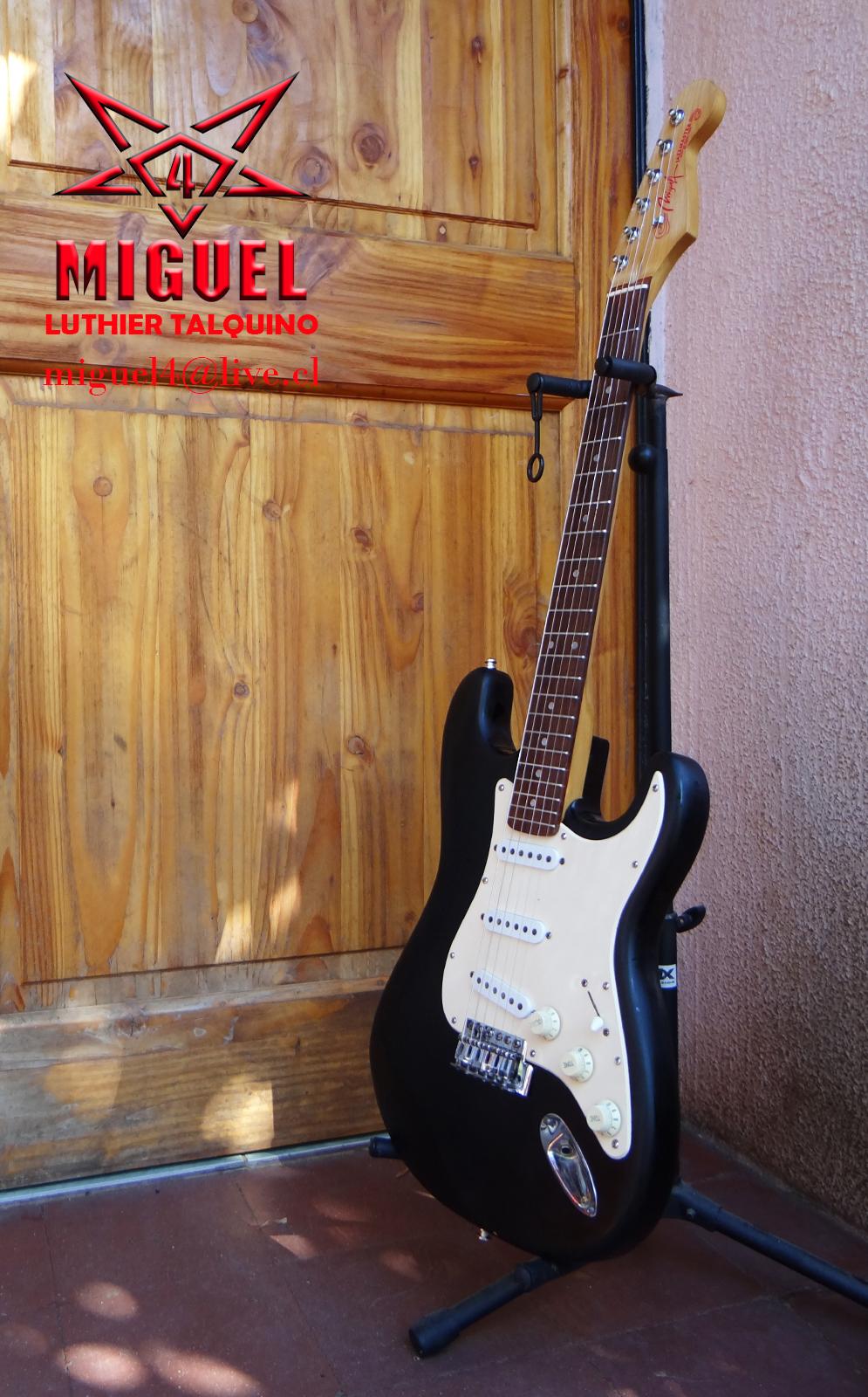 Luthier miguel4 talca guitarra electrica stratocaster for Luthier guitarra electrica