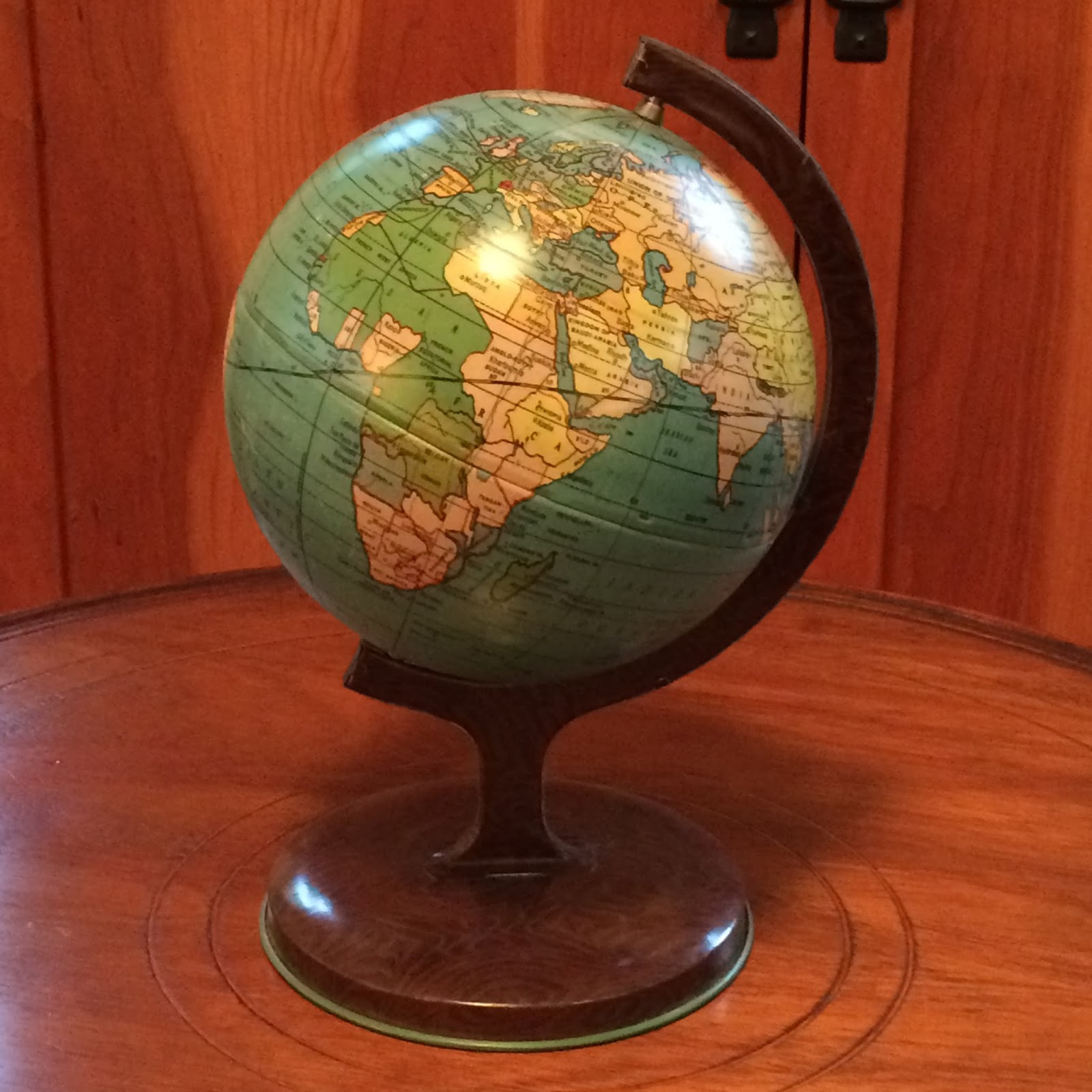 collecting antique and vintage globes j chein tin globe lucky find