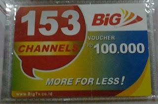 Agen Voucher Big TV Termurah Chip Sakti Pulsa Murah Payment PPOB Lengkap