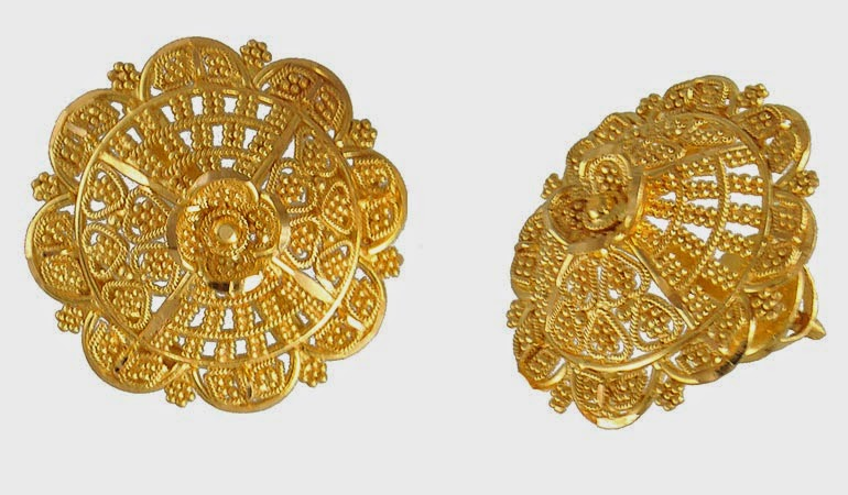 Design Gold Earrings With Latest