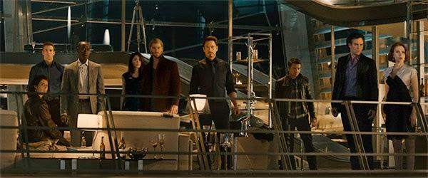 "Vengadores reunidos en ""Los Vengadores: La Era de Ultron"""