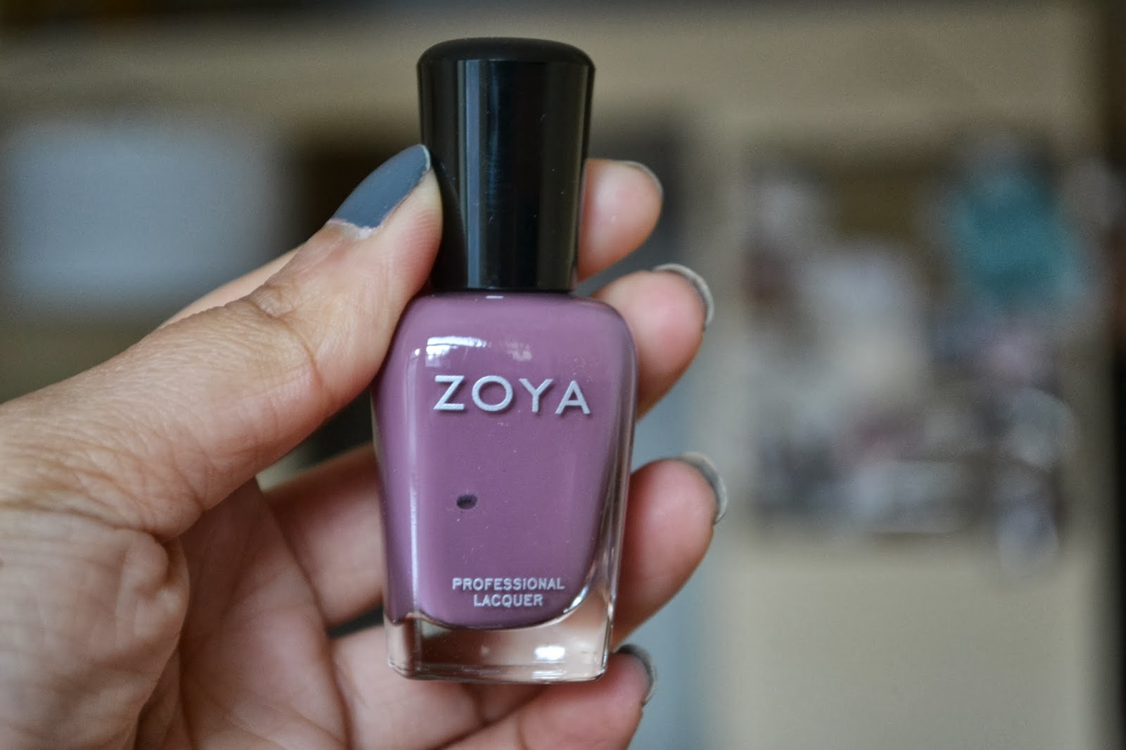 Zoya nail polish in the shade Odette