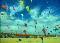 Semarak Festival Layang Layang Sebagai Pengingat Permainan Tradisional