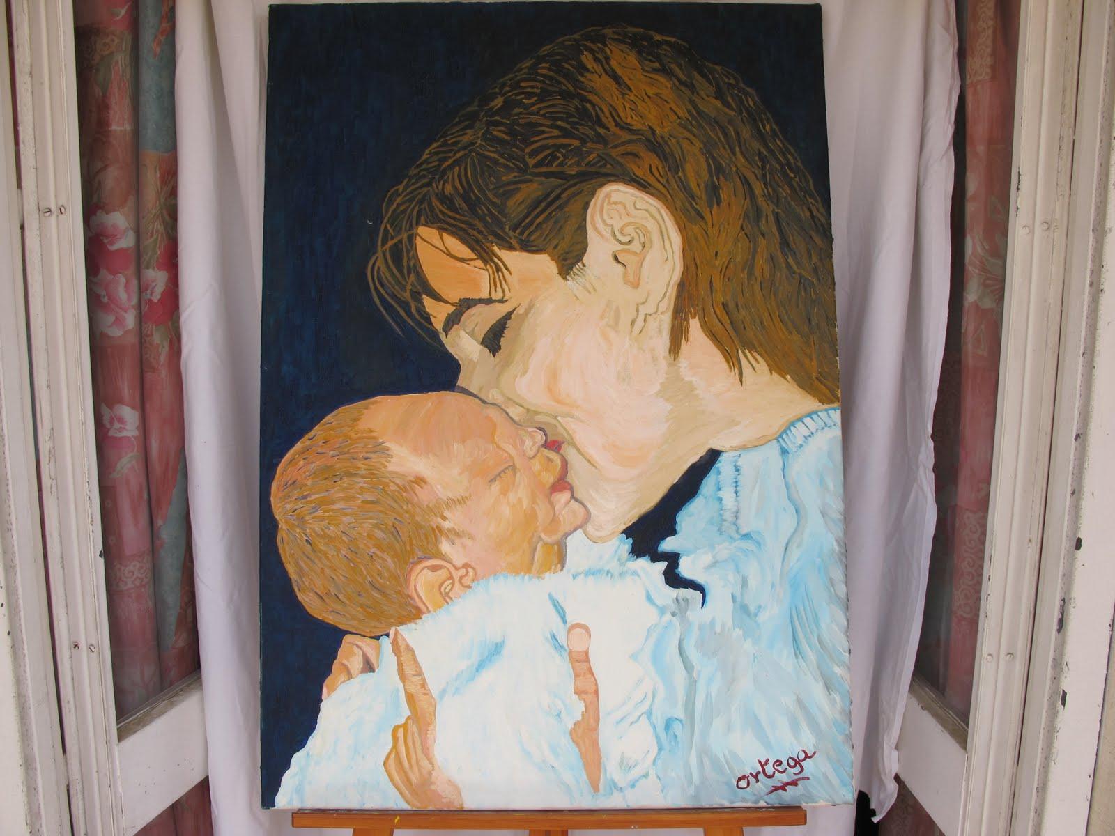 Ortega albarr n antonio n 37 instinto de madre - Pintura instinto ...