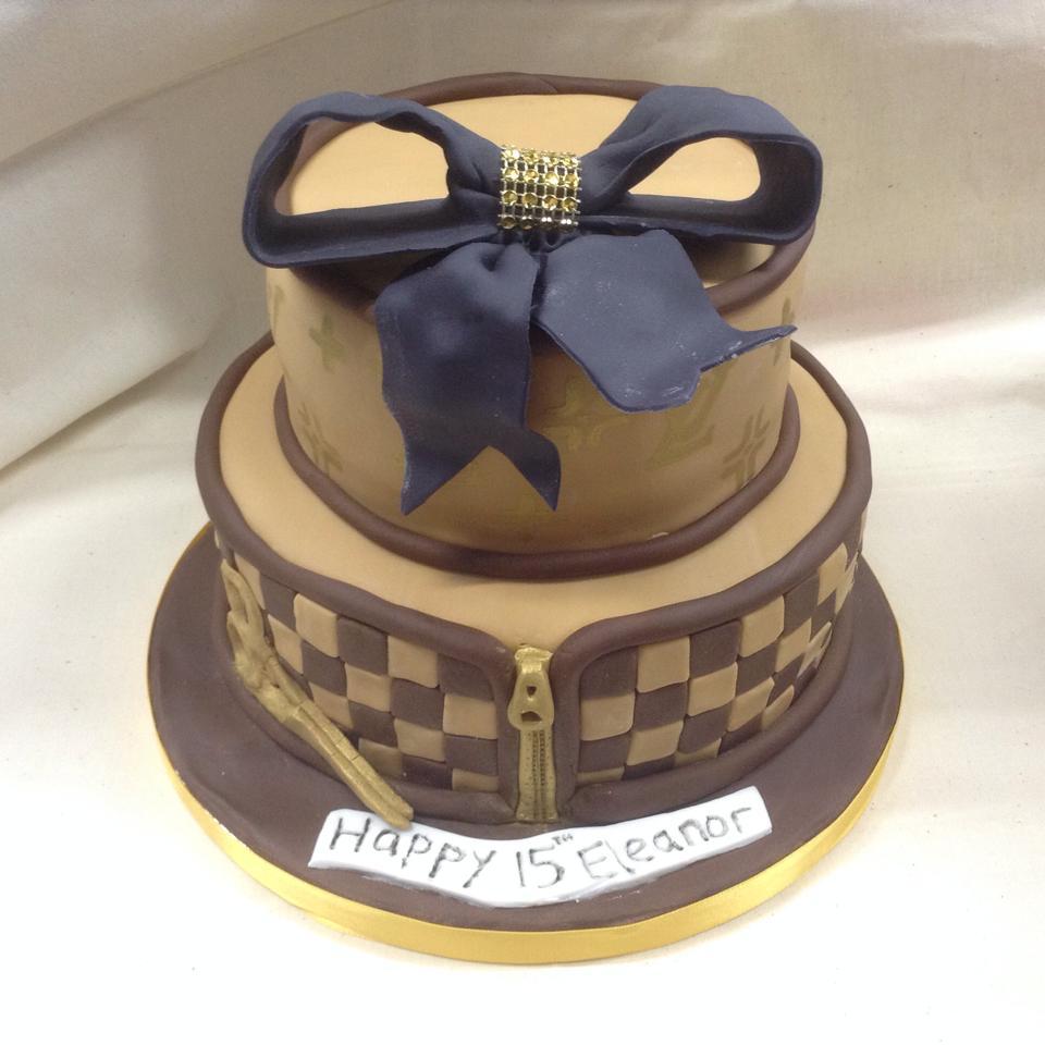 Chintzy Cakes Louis Vuitton Birthday Cake