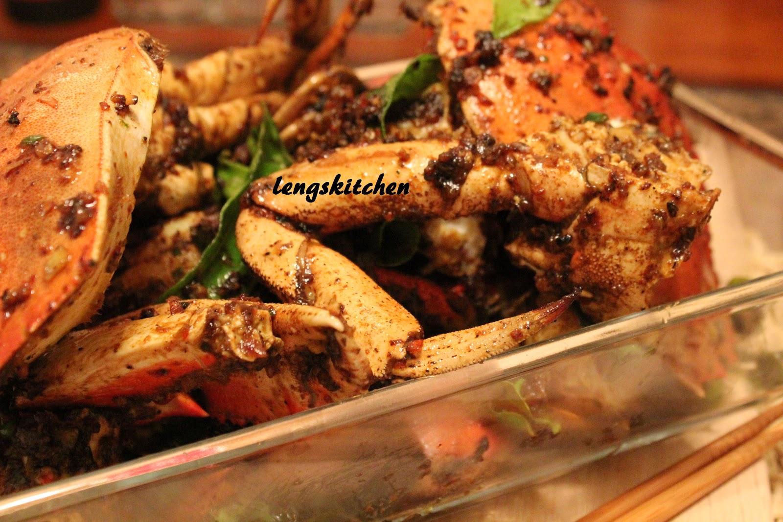 kitchen chaos kam heong crab 金香炒蟹