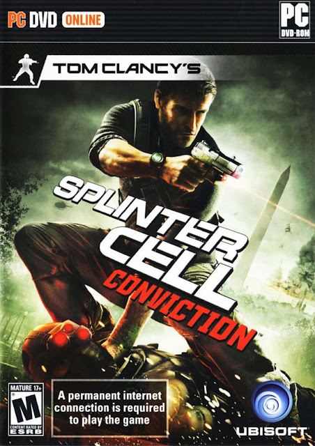 Tom Clancy's Splinter Cell Conviction Download Cover Free Game