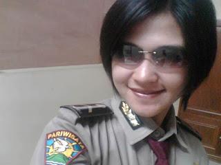 para Polisi Wanita yang ada di Negeri Tetangga, berikut hasil foto
