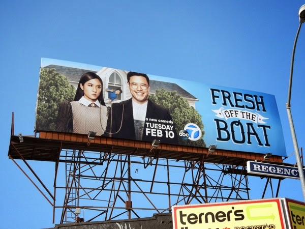 Fresh Of the Boat series premiere billboard
